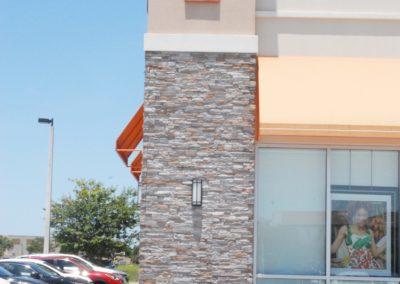 Viera Shoppes 2, TJ Maxx EIFS stone